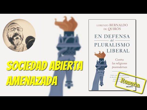 En defensa del pluralismo liberal, de Lorenzo Bernaldo de Quirós