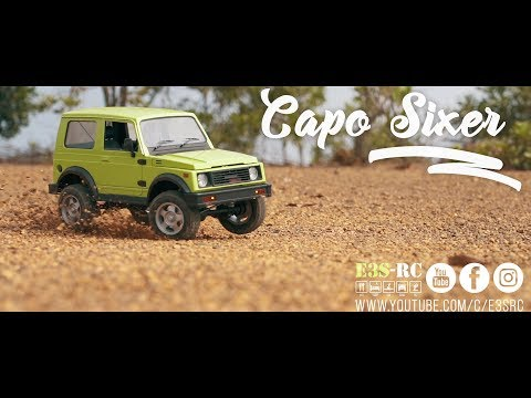 """CAPO SIXER"" SUPER SCALE RC TRAIL! CAPO SAMURAI 1/6  RC ADVENTURES 