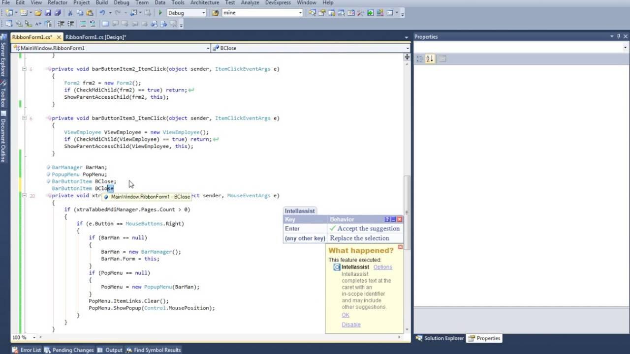 Part 7 how to create popup menu in c# DevExpress