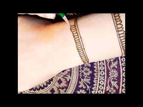 Easy beautiful mehndi design tutorial thumbnail