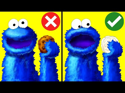 The Cookie Monster Doesn't Actually Eat Cookies - Fact Show 4