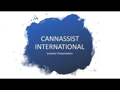 CannAssist International Corp. (Private Company) Webcast | S