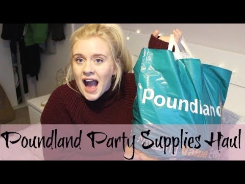 POUNDLAND HAUL |Party Supplies|