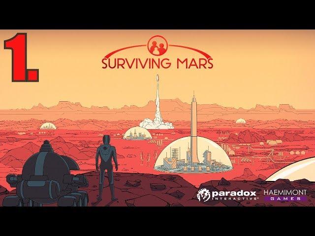 SURVIVING MARS Gameplay PL