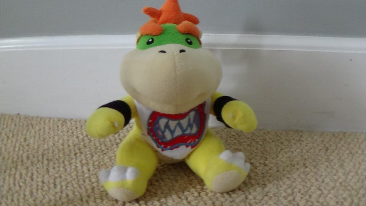 Mario Plush Unboxing 3 Little Buddy San Ei Bowser Jr Plush