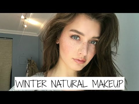 Winter Everyday Natural Makeup Tutorial 2017