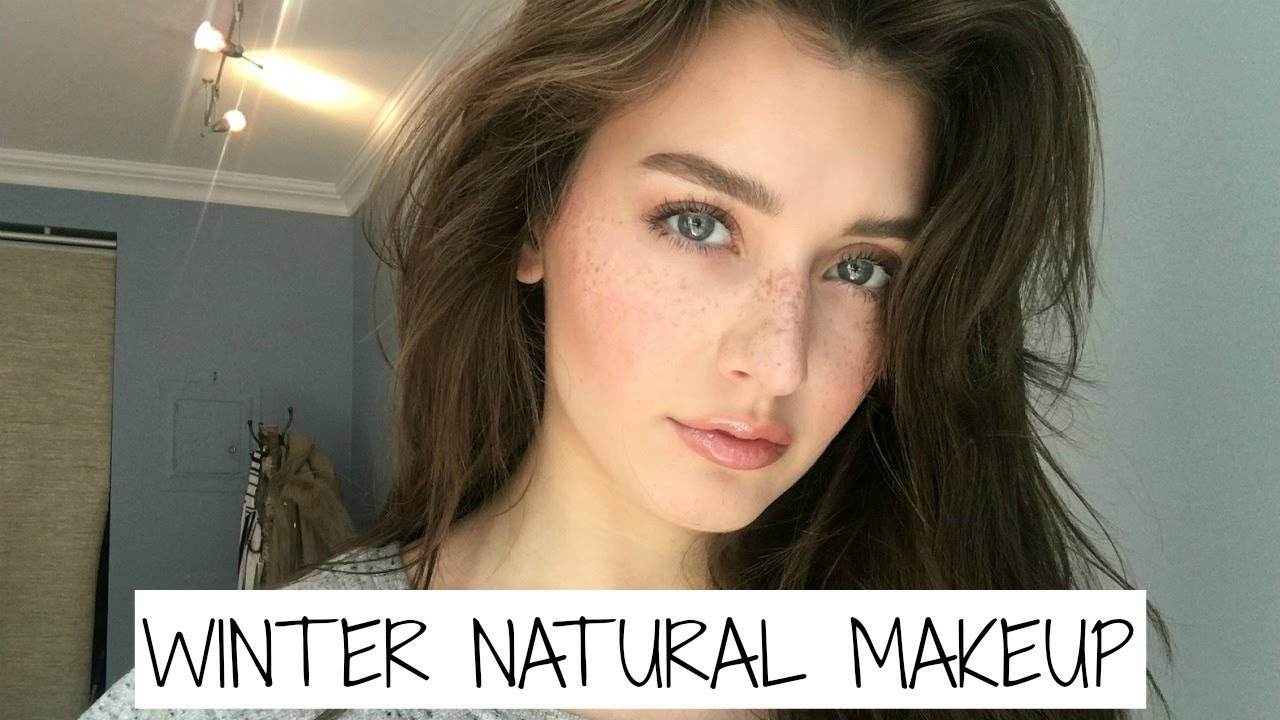 Winter Everyday Natural Makeup Tutorial 2017 Jessica Clements Youtube