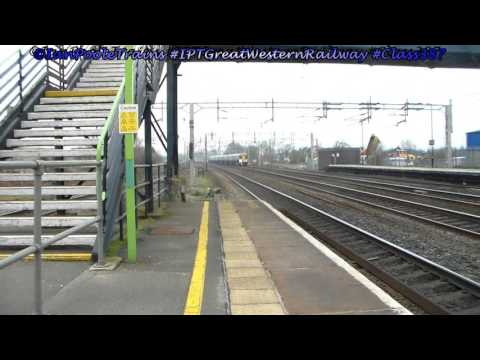 Great Western Railway 387s 387145+387142, 5A55 Crewe to Wembley Euro Freight Operations Centre
