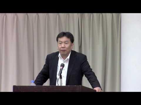 【島根】「支え合い、助け合う社会の再生を目指す」枝野幹事長が演説で
