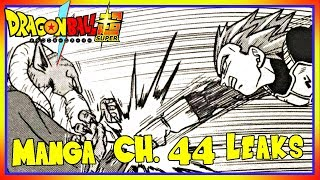 MORO REVEALED!!! Dragon Ball Super Manga Chapter 44 Leaks.