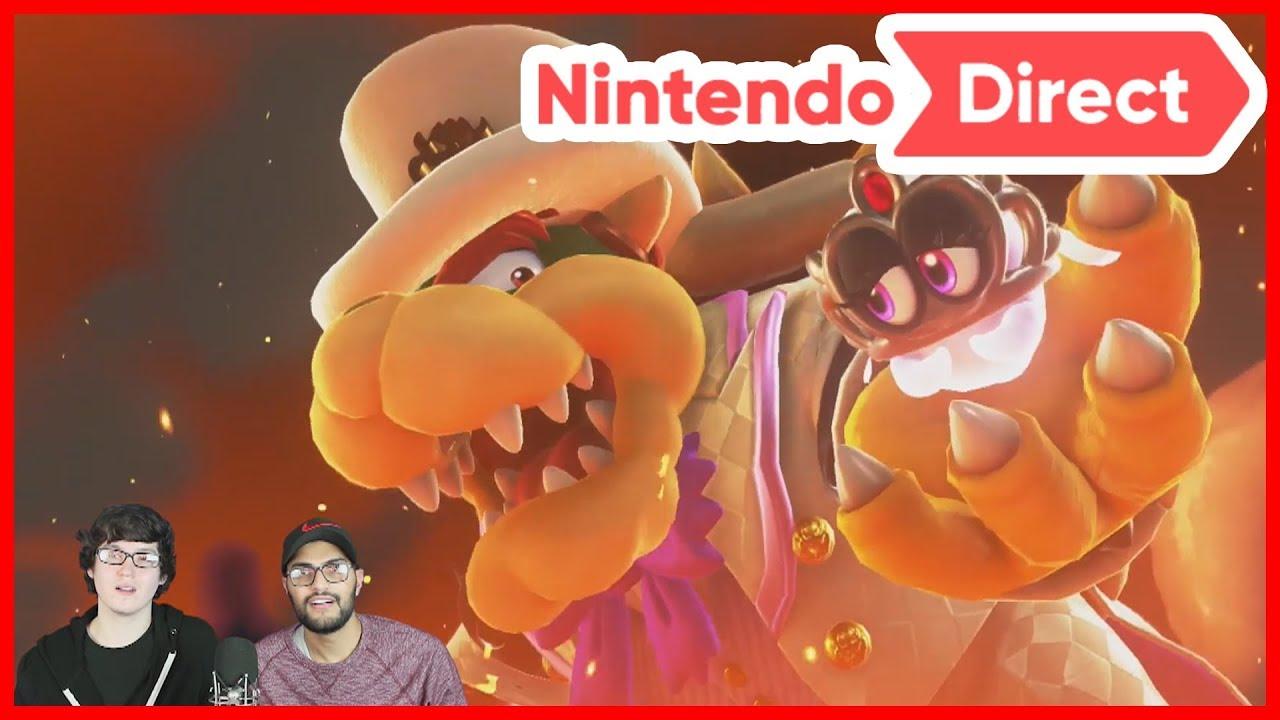 Nintendo Direct 9.13.2017 (Highlight Reactions) - YouTube