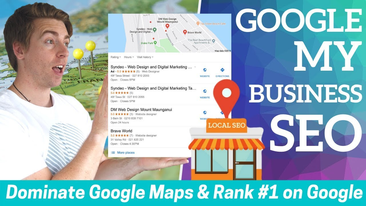 Google My Business SEO | Dominate Google Maps and Rank