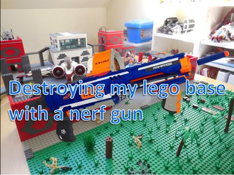 how to make a nerf gun out of legos