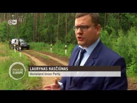 EBU Lithuania builds fence on the border with Kaliningrad