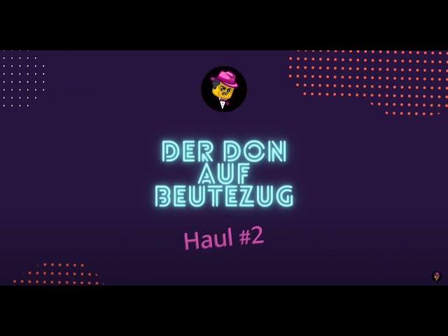 Der Don auf Klemmbaustein-Beutezug | Haul #2 vom 3. Juni 2021