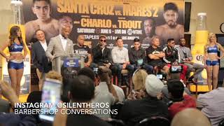 Showtime pissed of Jermall Charlo & he walks out Presser!Jermell & Trout go in w Words!
