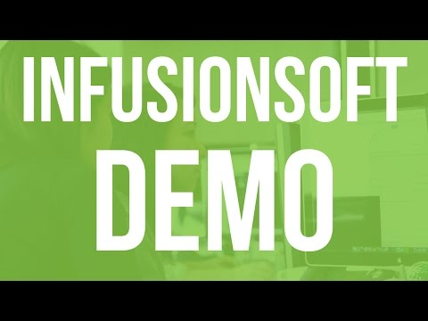 Infusionsoft Demo - See All the Features