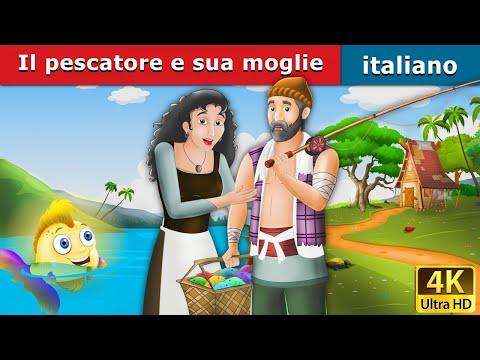 Il pescatore e sua moglie | Storie Per Bambini | Favole Per Bambini | Fiabe Italiane