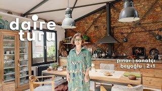 Daire Turu: Pınar'ın Beyoğlu'ndaki Yüksek Tavanlı Evi