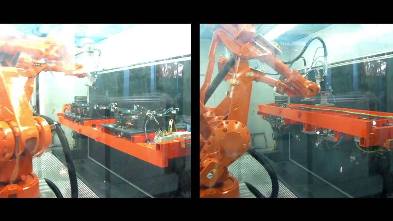Abb Robotics Welding Cutting 10 Popular Examples Youtube
