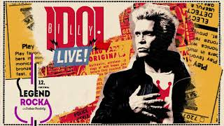 Billy Idol 21.07.2018 r. w Dolinie Charlotty