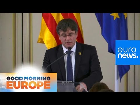 Euronews:Former Catalan President must visit Madrid, and risk arrest, to activate MEP status