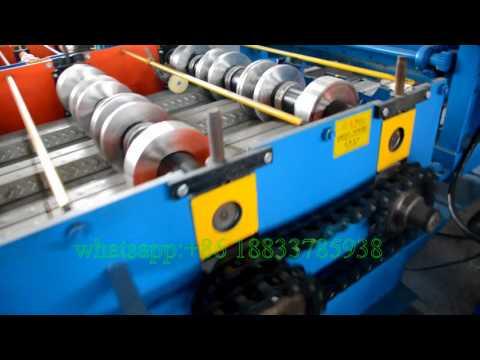 Metal Floor Decking Panel Roll Forming Machine
