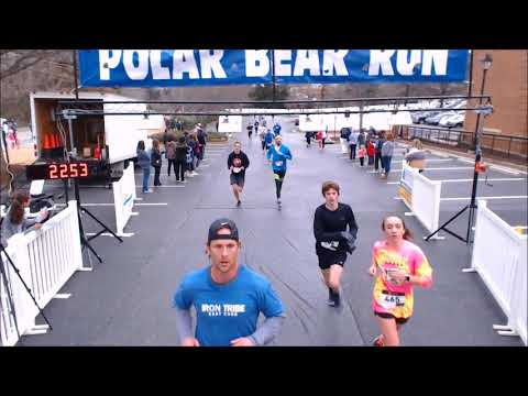 2018 Polar Bear 5K Finish