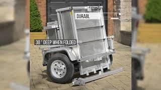 Remorques pliables utilitaires en aluminium - Lightweight Aluminum ...