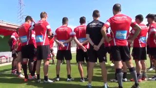 Entreno del Real Mallorca 17 05 16