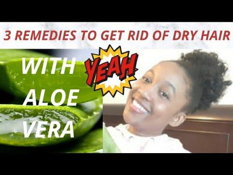 DIY ALOE VERA HAIR GROWTH MASK FOR DRY NATURAL HAIR| ALOE VERA FOR BLACK WOMEN HAIR GROWTH