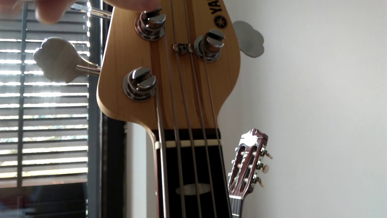 Quick And Easy Tip On How To Fix Open String Buzzing On A Bass Guitar Possibly On A Guitar As Well Youtube