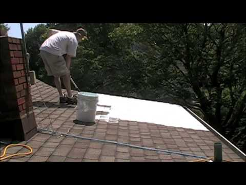 NJ Install of a Super Therm White Roof Initiative cool roof CRRC