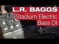 L.R. Baggs Stadium Electric Bass D.I. E-Bass-Review von session
