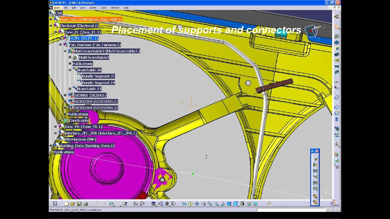Catia Wire Harness - Wiring Diagram Database