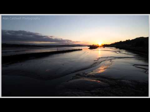 Sunset Time Lapse - Bowling Harbour (EOS 60D)
