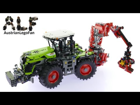 Lego Technic 42054 Claas Xerion 5000 Trac VC - Lego Speed Build Review
