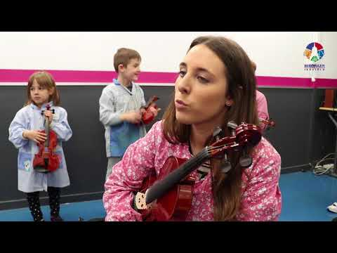 Del violín a un proyecto musical integral: la música empapa Begoñazpi Ikastola
