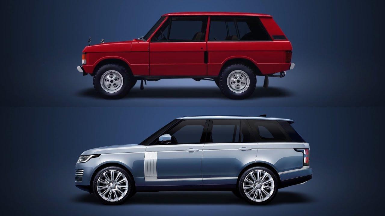 Land Rover Range Rover Evolution - 1970-2018