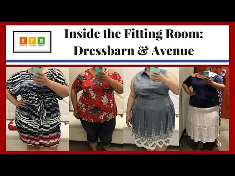 Inside the Fitting Room: Americana Looks from Avenue and Dressbarn
