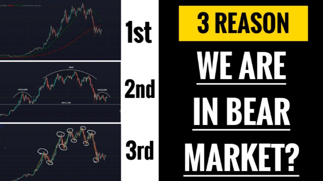 🚨ALERT: 3 reason we are in Bear market? | Altcoins dead? | death cross | head shoulders pattern