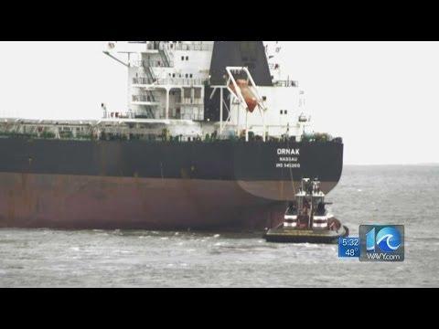 Anita Blanton on grounded ship removed