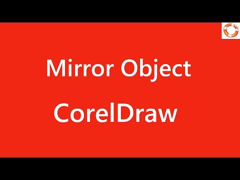 CorelDraw Mirror Object Horizontally
