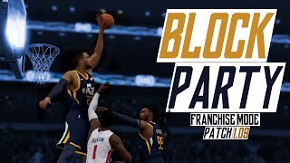 NBA LIVE 19 FRANCHISE MODE UTAH JAZZ | EPISODE EIGHT | FRANCHISE MODE IN PATCH 1.09 GAMEPLAY!