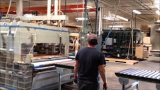 Navy Island robots in panel line