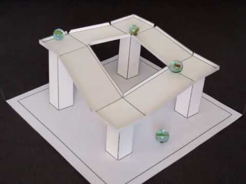 3D Paper Illusion - Impossible Gravity Illusion - 1