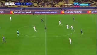 AS Monaco VS Club de Brugge All Goal Highlights - 6 Nov 2018