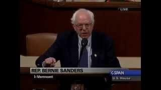 Bernie Sanders Blasts Billionaire Taxcuts (4/13/2005)