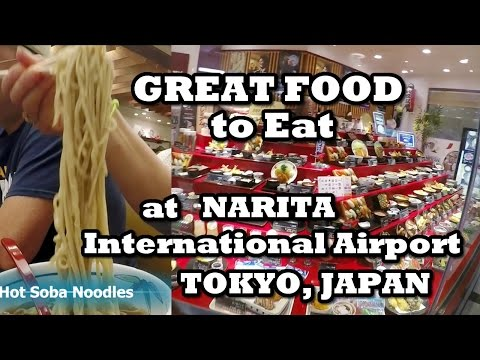 What and Where to Eat at NARITA International Airport