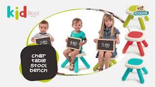 Lavice pro děti KidBench Smoby